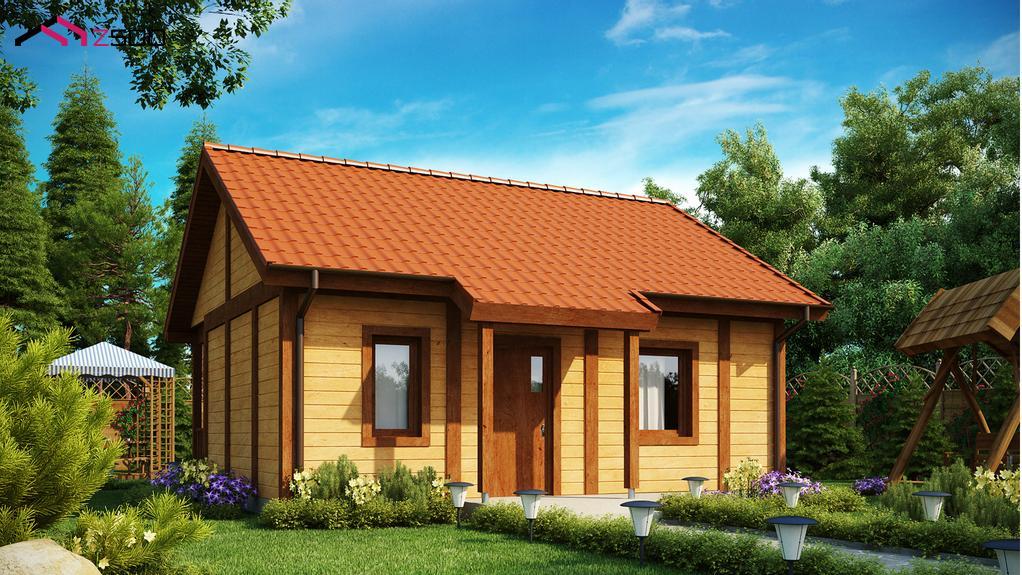 Casa de vacanta mica din lemn