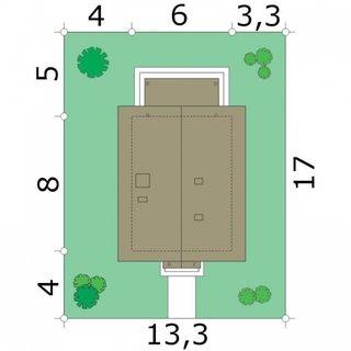 Dimensiuni teren casa mica cu mansarda