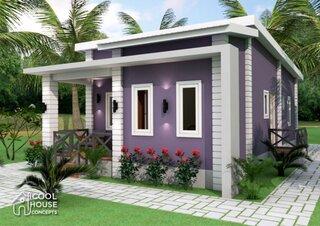 Casa parter cu 3 dormitoare