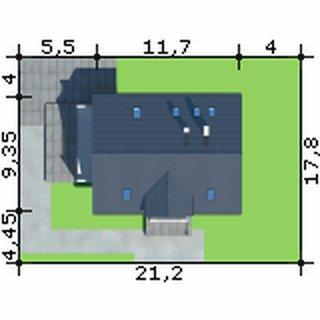 Dimensiuni teren casa cu 5 dormitoare