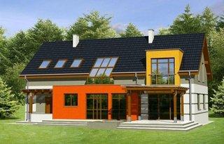 Casa cu etaj si garaj la parter