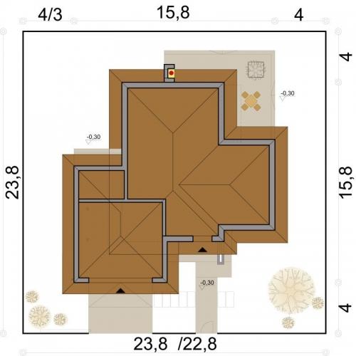 Dimensiuni casa cu 5 dormitoare