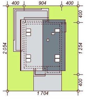 Dimensiuni teren casa cu 2 balcoane