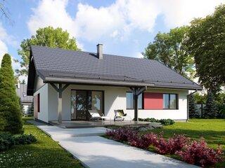 Casa moderna cu parter si pod