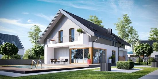 Proiect casa 4 dormitoare - stil modern si eficient