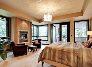 Dormitor matrimonial cu baie separata