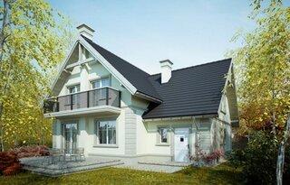 Casa P+M cu balcon mare