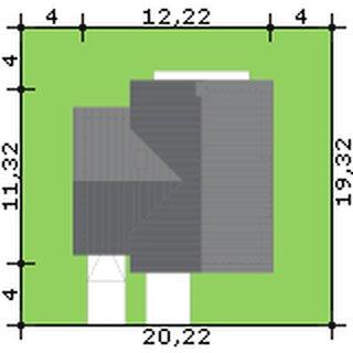 Dimensiuni casa cu 4 dormitoare si garaj