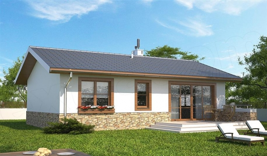 Model simplu de casa fara etaj