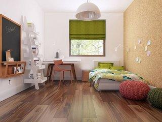 Jaluzele romane verzi pentru dormitor