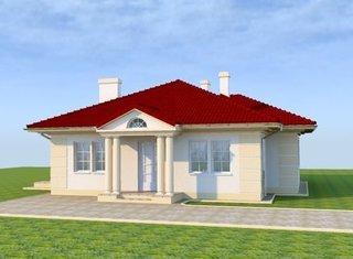 Casa cu pod si arhitectura clasica