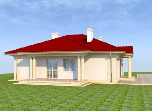 Casa parter cu trei dormitoare
