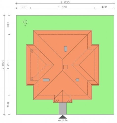 Dimensiuni parcela teren casa doar cu parter