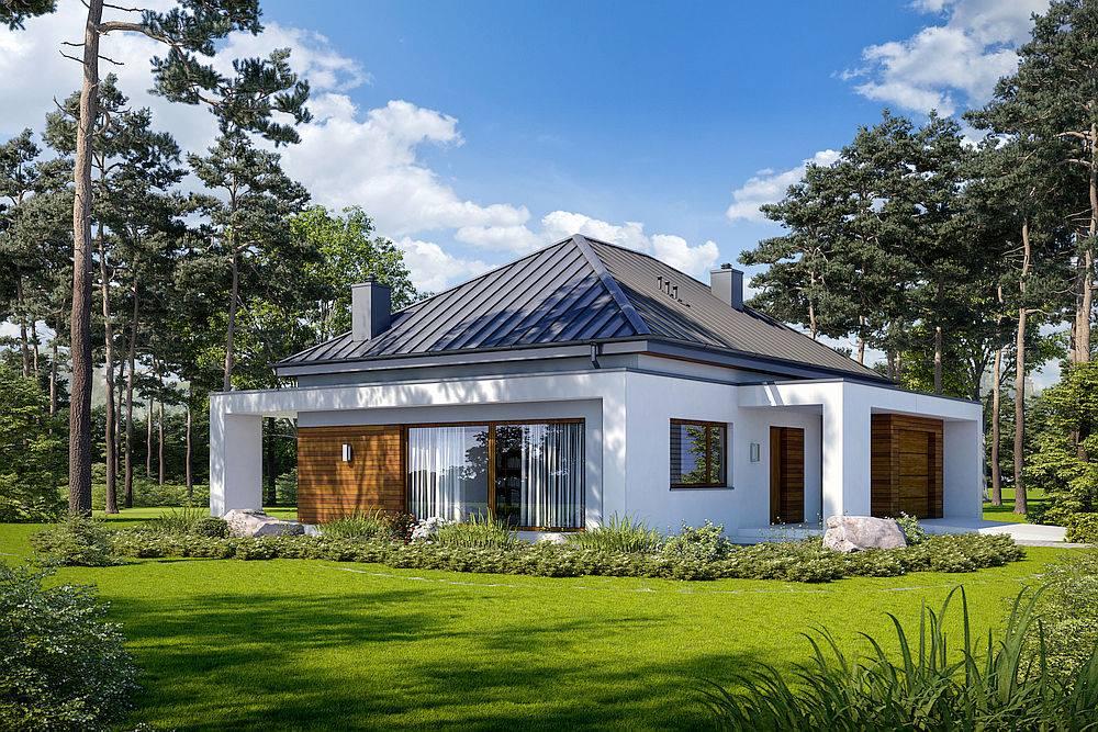 Casa cu parter si garaj inclus 123 mp