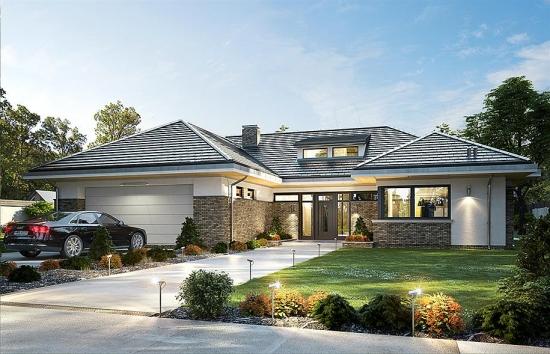Casa mare cu garaj dublu