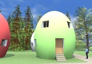 Casa pasiva Candy Egg