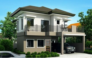 Casa cu etaj  5 dormitoare si balcon