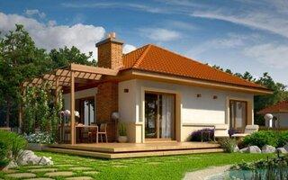 Casa doar cu parter pentru familii mici