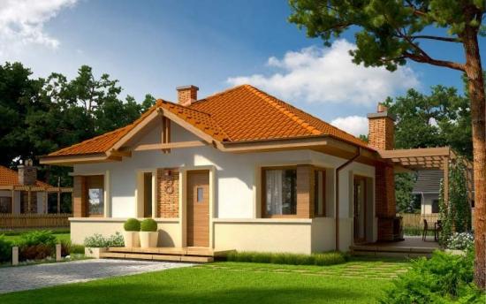 O Casa Perfecta Pentru un Teren Mic - Are 1 Dormitor si 2 Bai si o suprafata de 62 metri