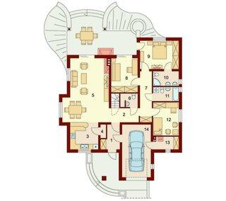 Casa cu parter terase garaj si 3 dormitoare