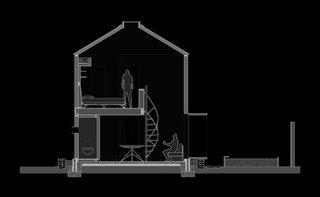 Sectiune plan casa