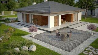 Casa cu terasa mare