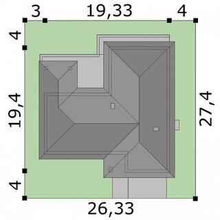 Diemensiuni teren casa spatioasa
