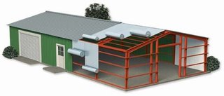 Casa pe structura metalica rezistanta la cutremur