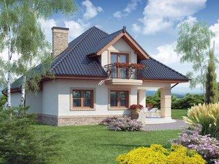 Casa cu mansarda suprafata utila 80 mp