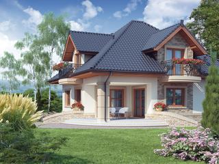 Casa superba cu mansarda visul oricarei familii
