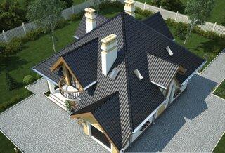 Plan acoperis casa cu mansarda
