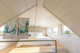 Dormitor casa pe roti