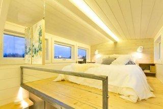 Dormitor mare casa pe roti