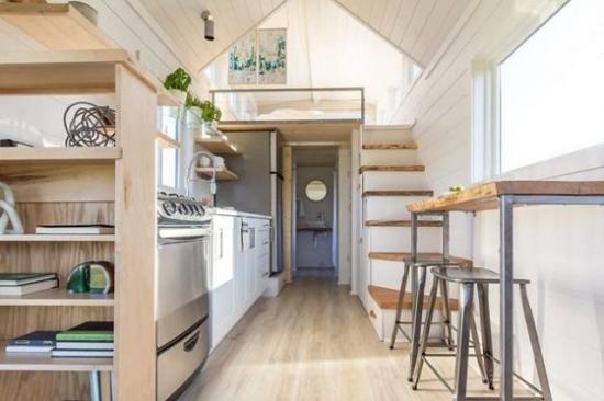 Open space casa pe roti