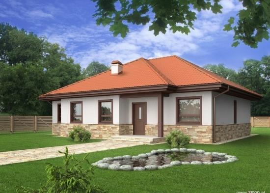 Casa superba  pe un singur nivel  - un proiect cum rar intalnesti