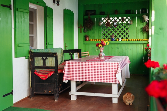 Decor veranda casa traditionala
