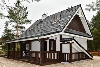 Cabana din lemn construita in stil modern