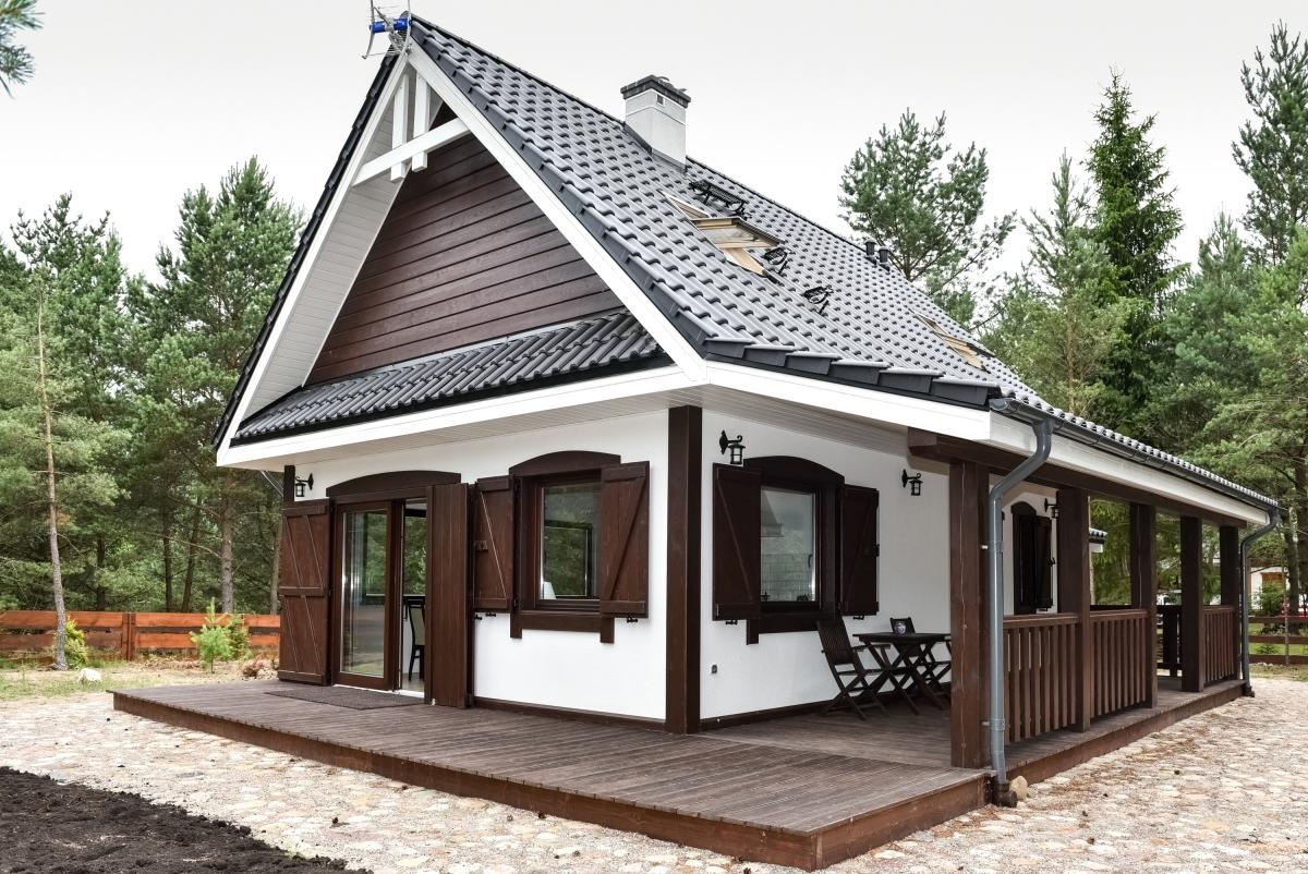 O casa traditionala cu pod locuibil cu suprafata utila de 62 mp - Este incredibil de eleganta