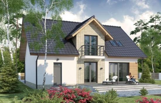 Casa cu 4 dormitoare si balcon