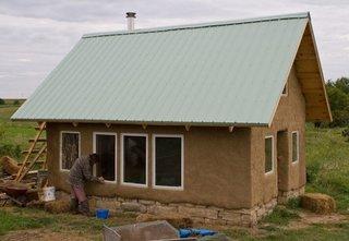 Constructie casa lut etape