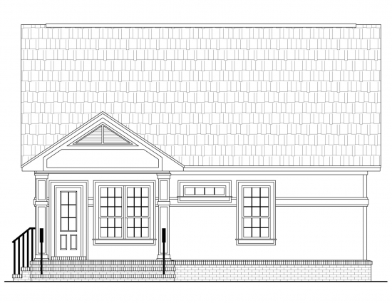 Proiect 1 plan arhitectura fatada