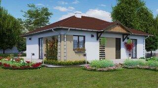 Proiect 2 Casa cu parter si 2 dormitoare