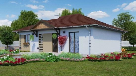 Proiect 2 casa cu parter suprafata construita 98 mp