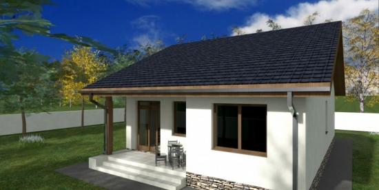 Proiect 3 casa cu 2 dormitoarea suprafata utila 109 mp
