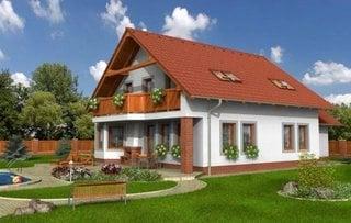Model de casa pentru la tara