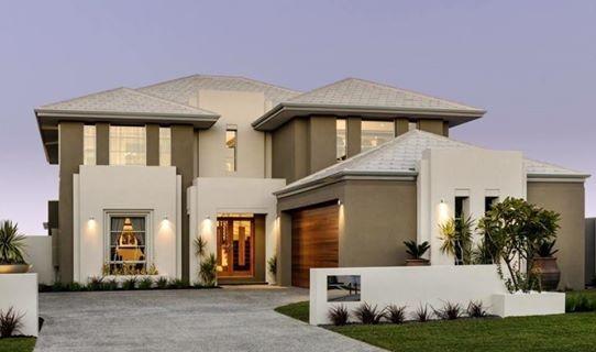 Casa moderna cu garaj