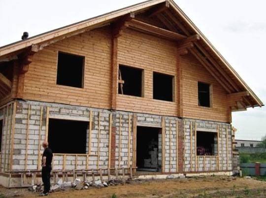 Parter din BCU si etaj structura lemn
