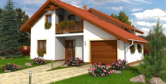 Casa cu garaj lateral