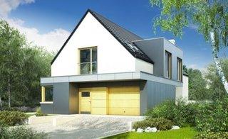 Casa moderna cu garaj integrat