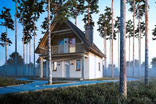 Casa cu latime de 6 metri